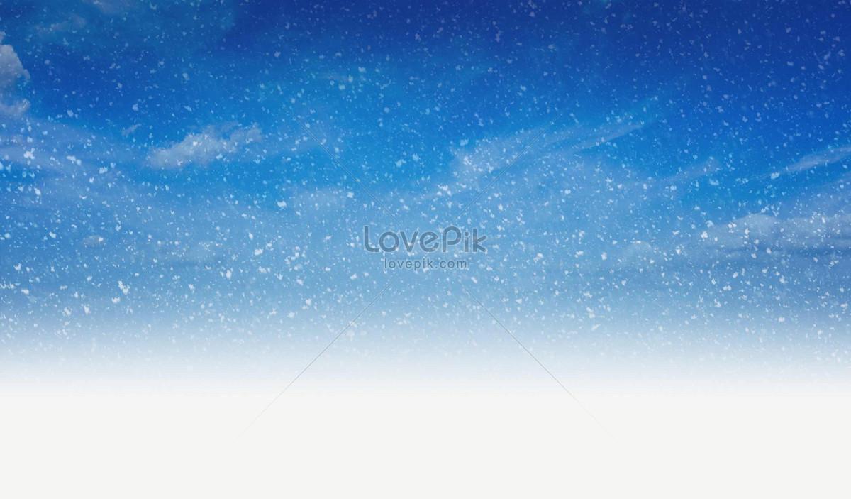 大雪纷飞的蓝天图片素材编号205169_高清图片免费下载