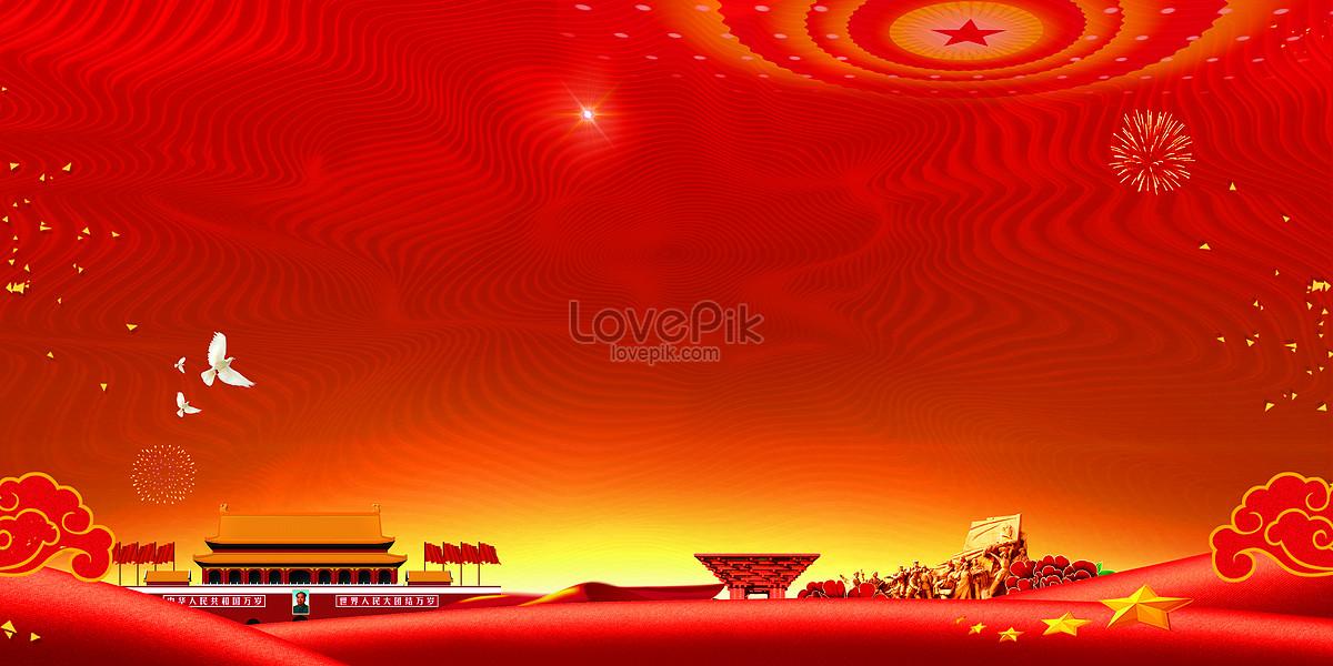红色党建标语背景图片素材编号400118210_prf高清图片