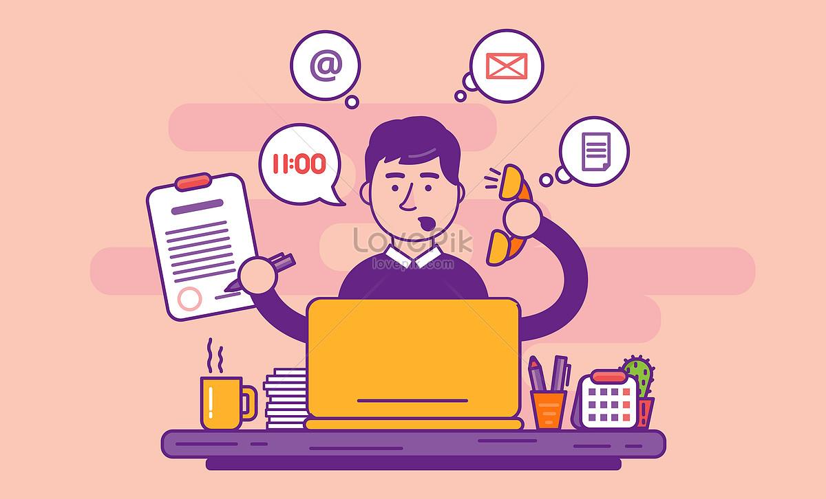 商务办公忙碌的工作图片素材编号400184150_prf高清