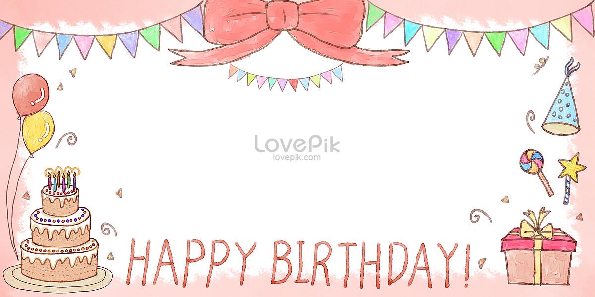 生日快乐边框背景图片素材编号400304028_prf高清图片