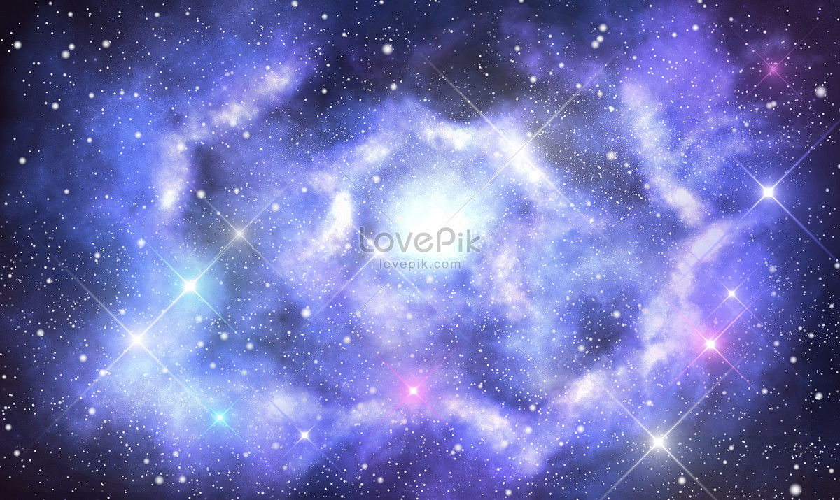星空月亮唯美背景图片素材编号400312360_prf高清图片