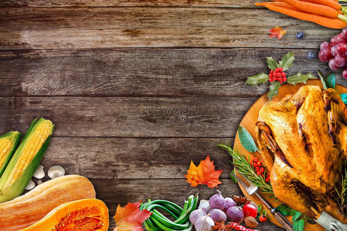 感恩节餐桌背景图片素材编号400734599_prf高清图片