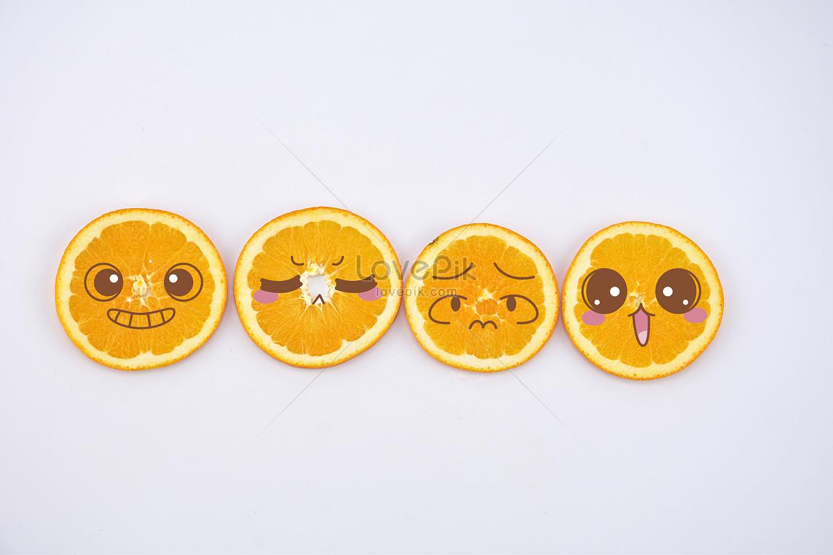 橙子背景水果切片摆拍图片素材编号500201879_prf高清