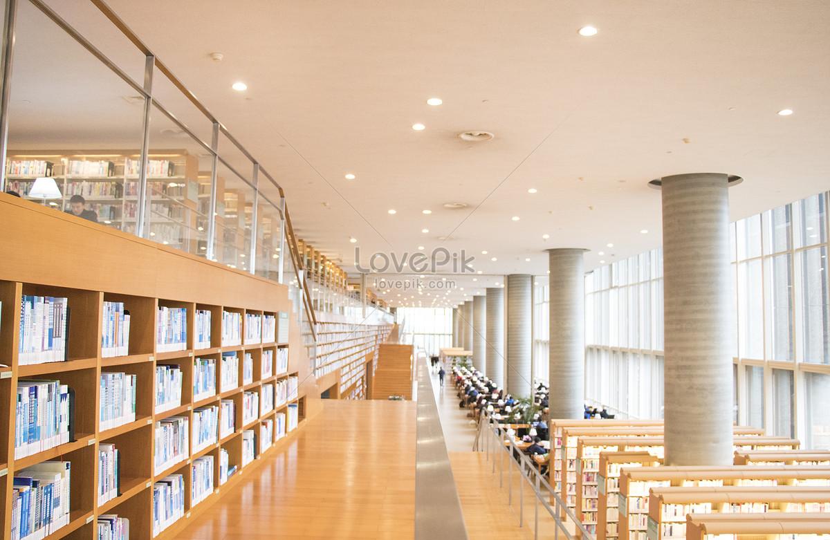 敞亮的图书馆大场景图片素材编号500210676_prf高清