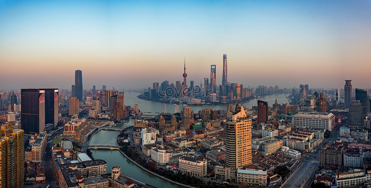 上海黄浦江全景图片素材编号500328287_prf高清图片