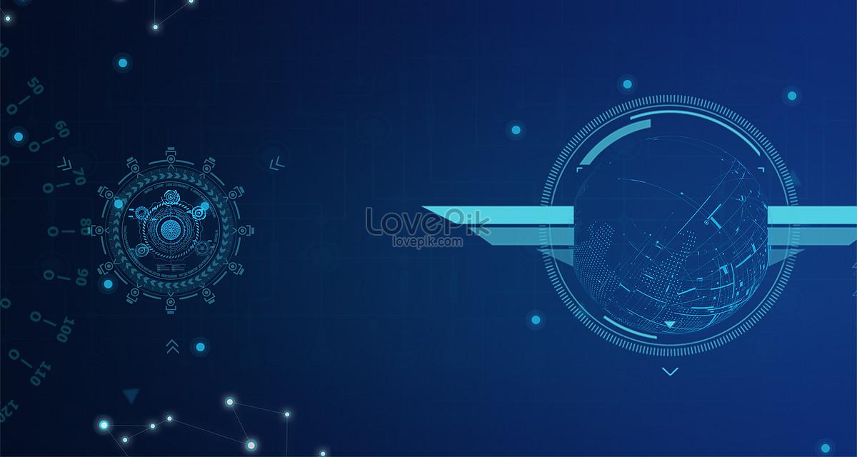 蓝色科技感背景图片素材编号500350606_prf高清图片