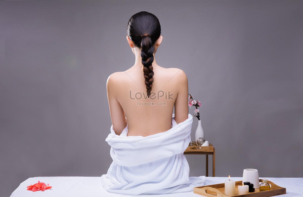 美容养生美女背部展示图片素材编号500353628_prf高清