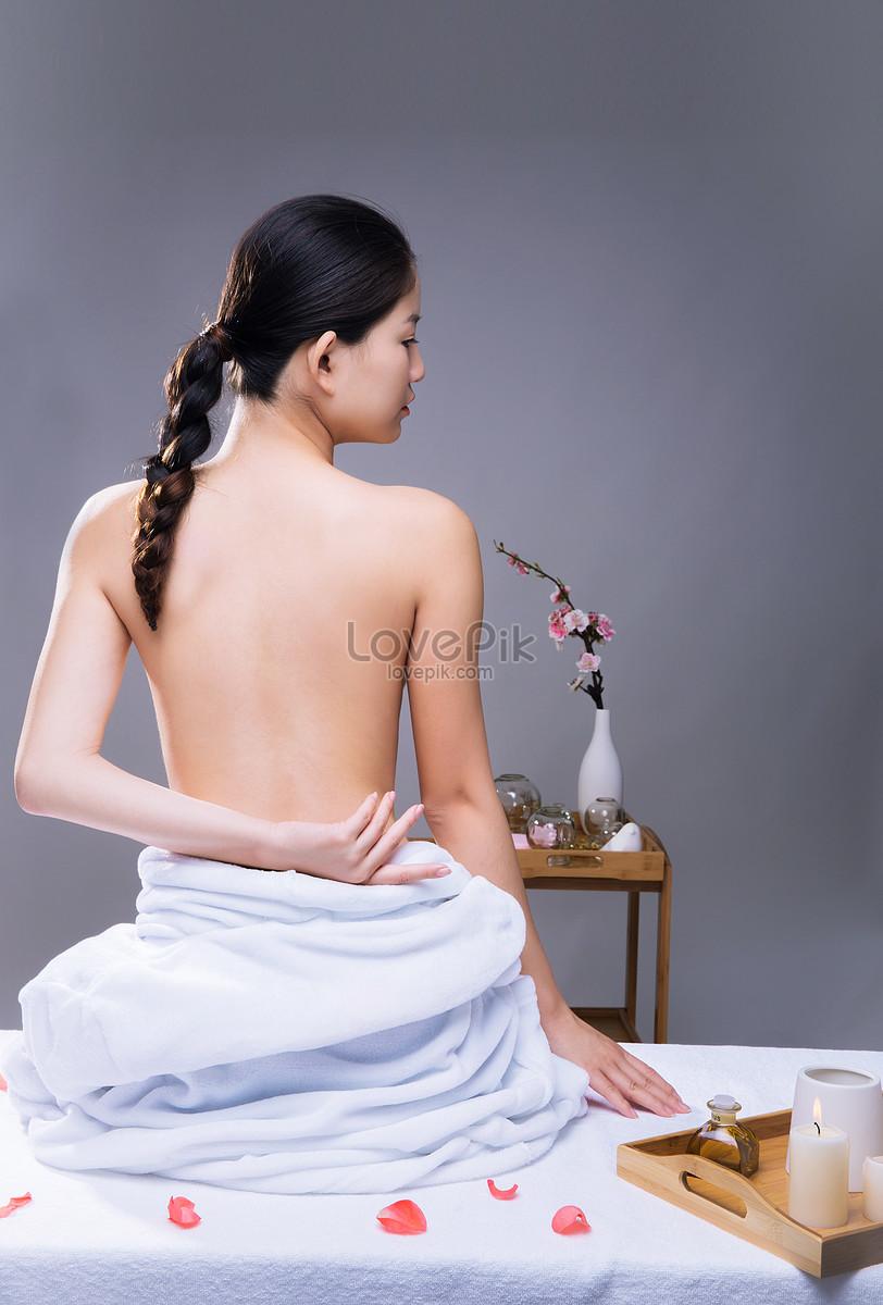 美容养生美女背部展示图片素材编号500353639_prf高清
