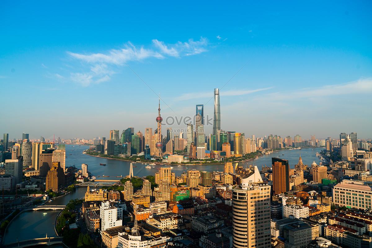 上海陆家嘴全景图片素材编号500537794_prf高清图片