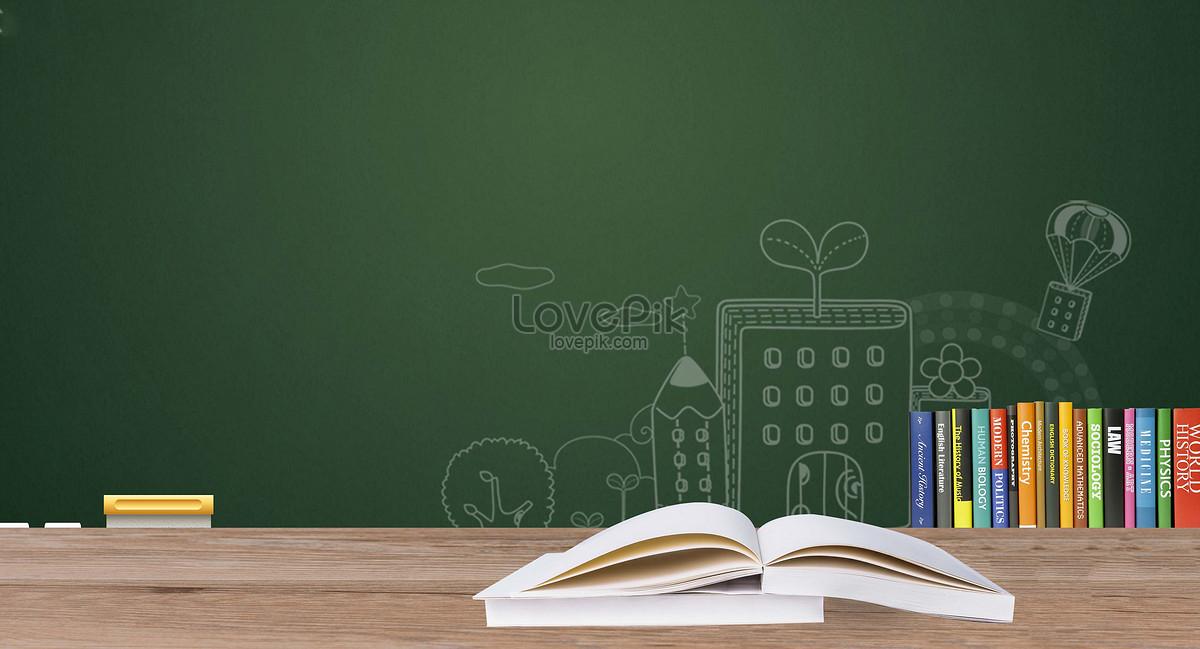 黑板书本教育背景图片素材编号500538233_prf高清图片