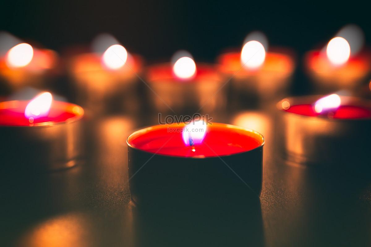 祈福祝福燃烧的蜡烛图片素材编号500547059_prf高清
