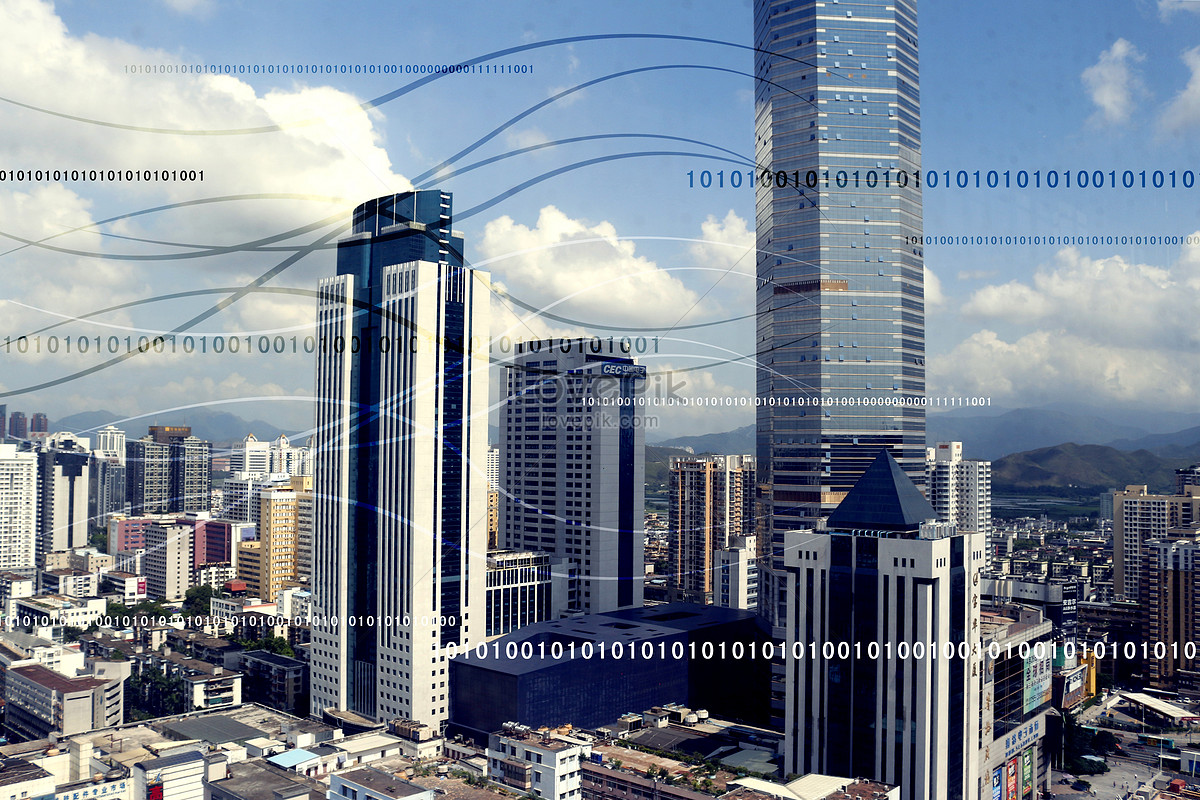 未来科技城市背景图片素材编号500556760_prf高清图片