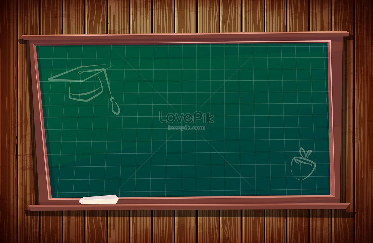 创意黑板招生背景素材