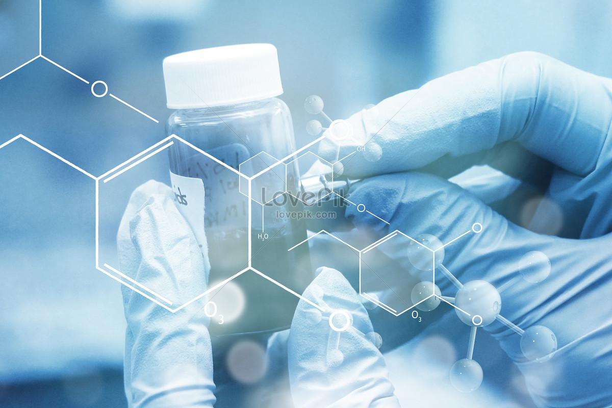 医疗分子研究背景图片素材编号500704997_prf高清图片