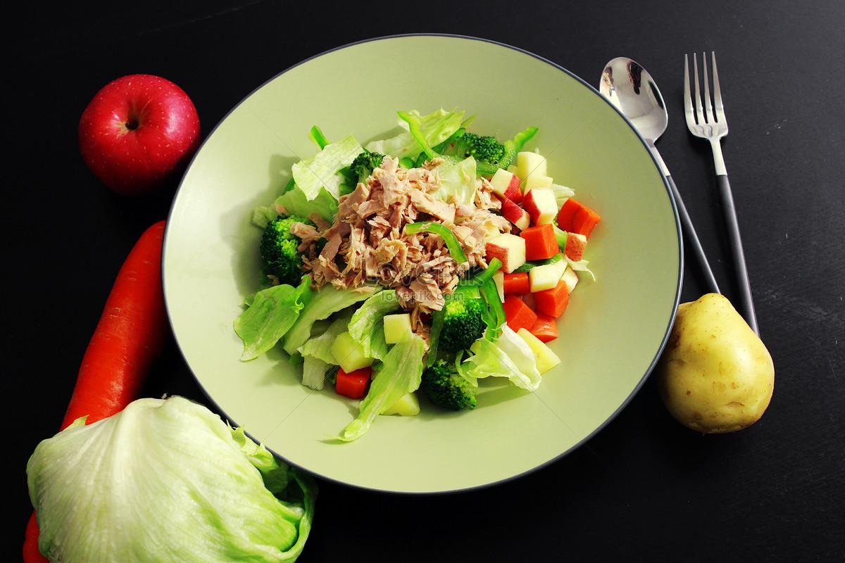 美食沙拉西式营养餐图片素材编号500817949_prf高清