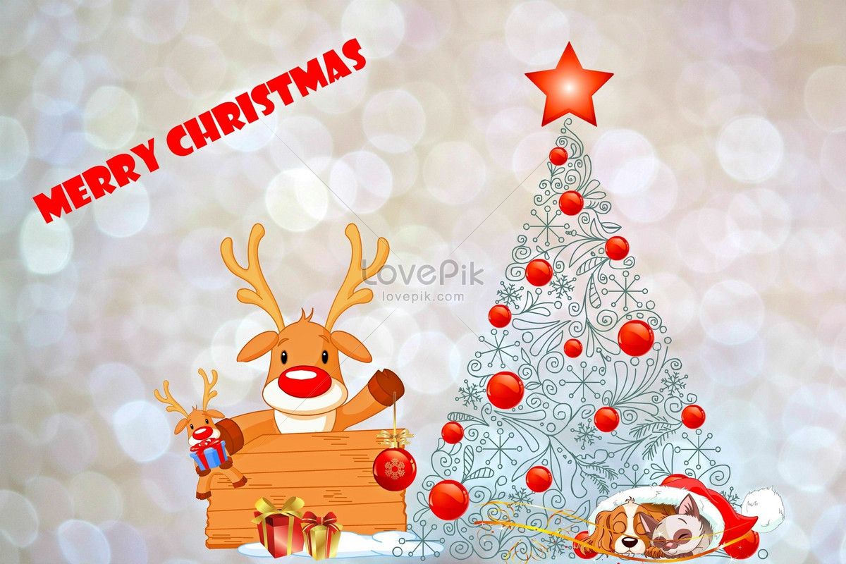 A Beautiful Christmas Card Backgrounds Imagepicture Free Download