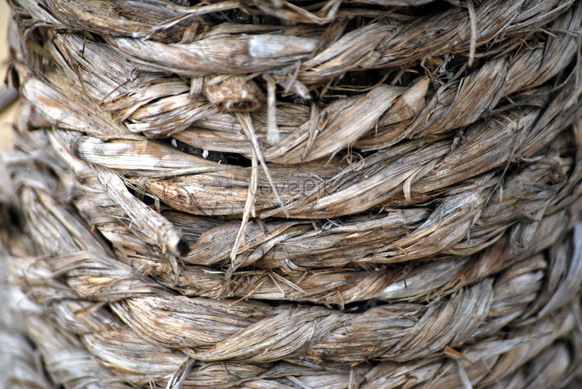 A twining sisal rope photo image_picture free download
