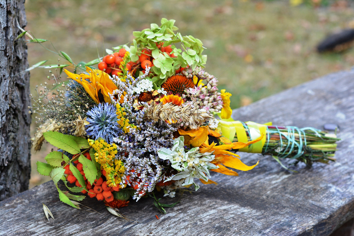 A flower bouquet of various wildflowers photo imagepicture free a flower bouquet of various wildflowers izmirmasajfo