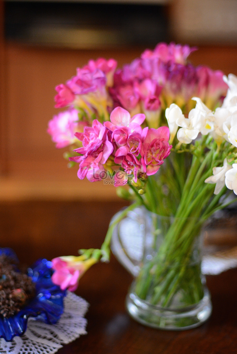 A Bunch Of Beautiful Flowers Photo Imagepicture Free Download