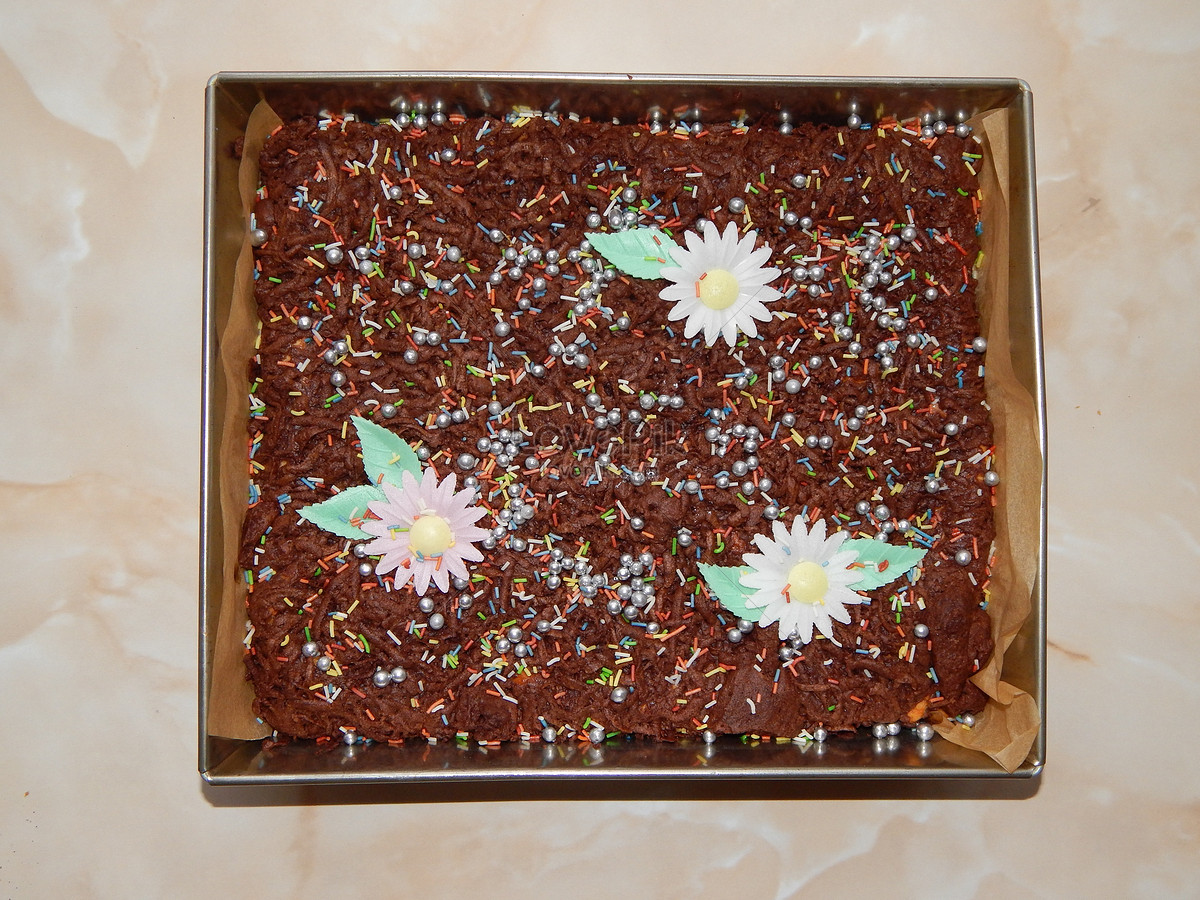 A Beautiful Chocolate Cake Photo Image Picture Free Download