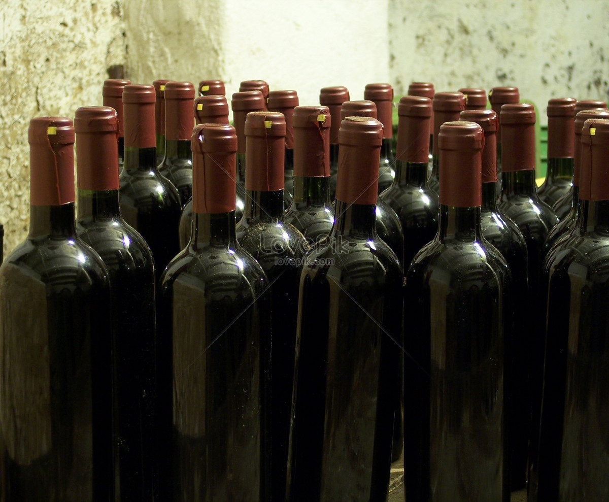 Put A Messy Bottle Of Wine Photo Imagepicture Free Download