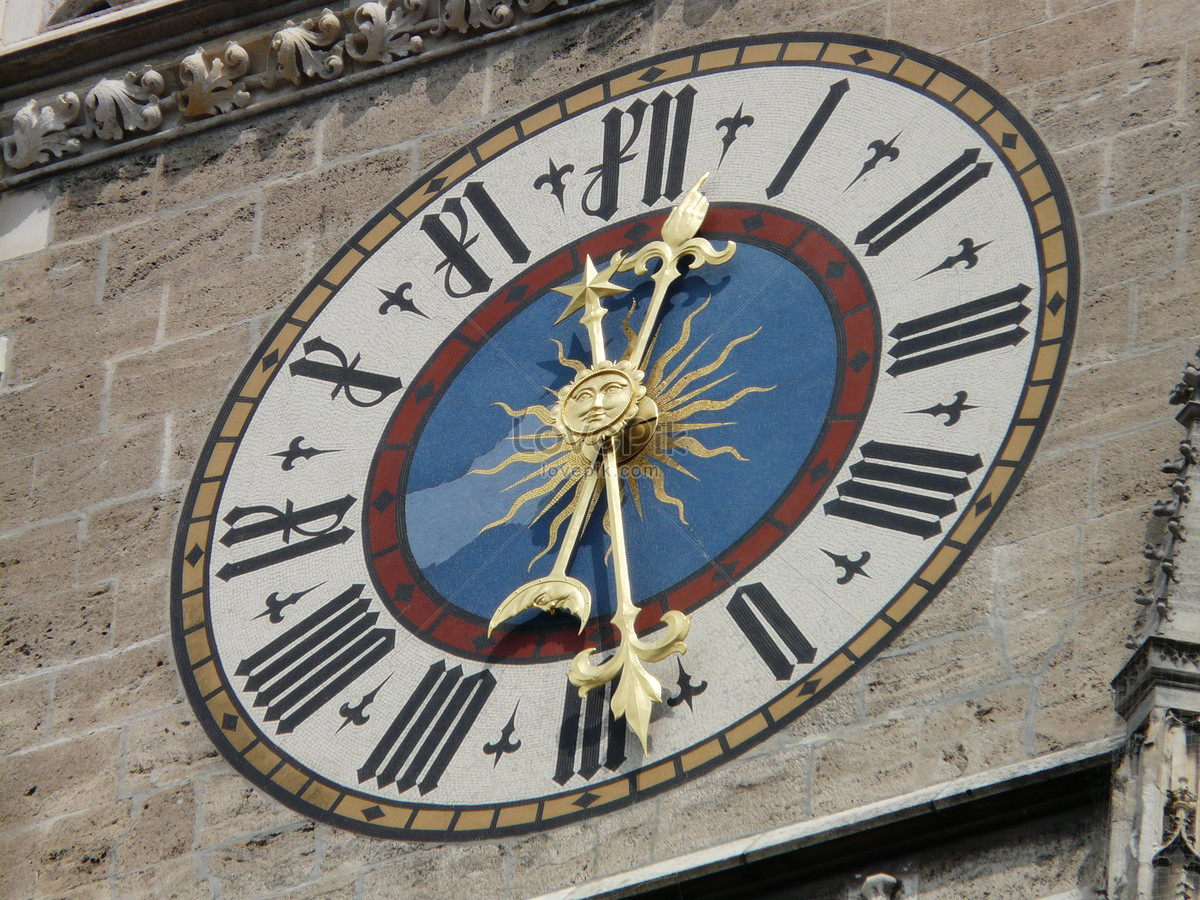The Clock On The Wall Photo Imagepicture Free Download