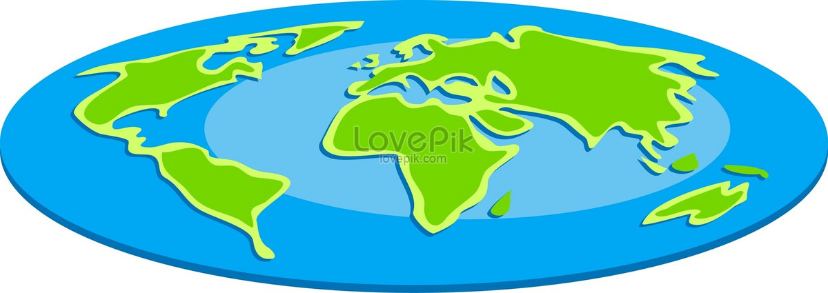 Flat Earth Map Download.Blue Green Flat Earth Photo Image Picture Free Download
