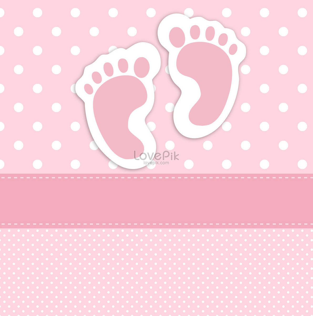 baby foot print business card template photo image picture free