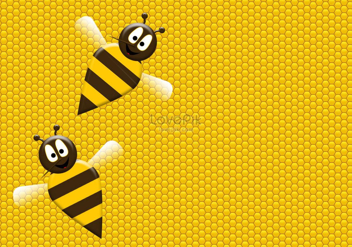 Kartun Lebah Lucu Gambar Unduh Gratis Foto 100140584format Gambar