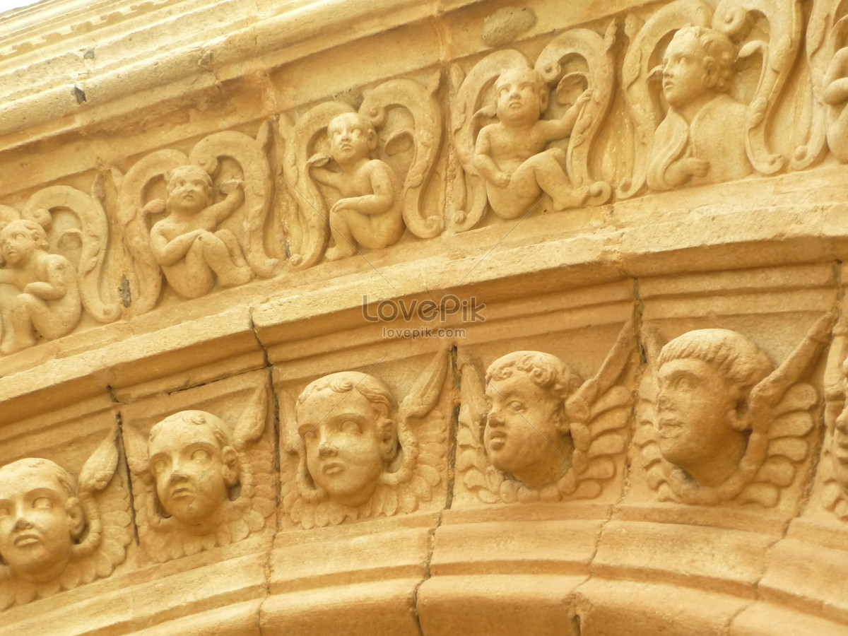 The relief on the wall photo image_picture free download ...