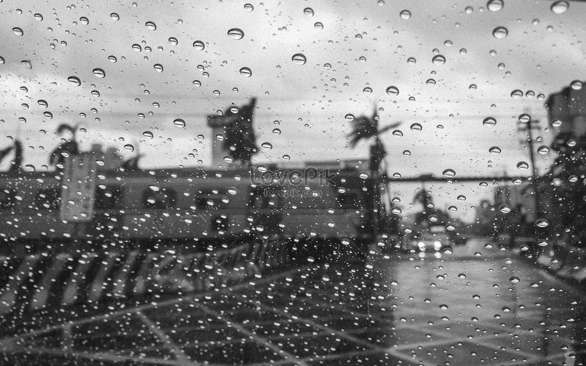 thành phố dưới trời mưa
