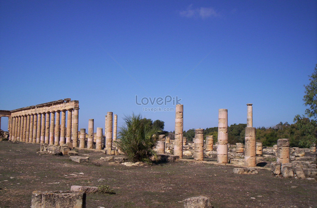 The image of the dionysian cyreniaca in delphi photo image_picture