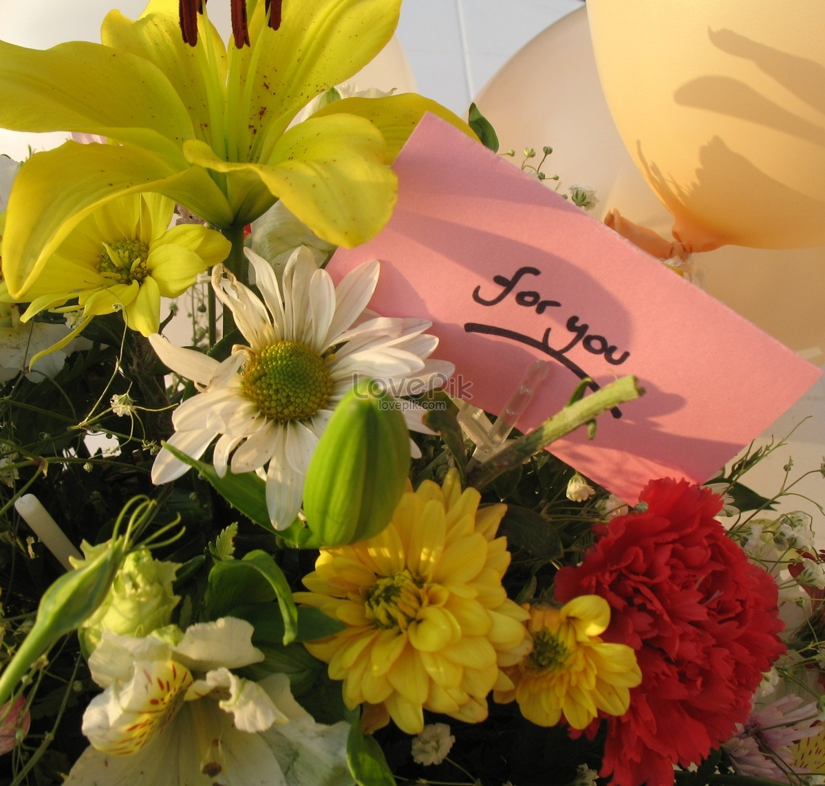 A Beautiful Bunch Of Flowers A Perfect Gift Photo Imagepicture Free