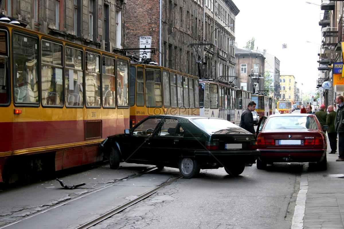 有軌電車道路交通事故圖片素材編號100378664高清圖片免費下載jpg圖片