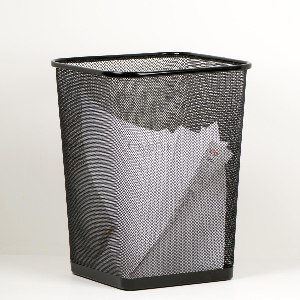 Office Metal Waste Paper Basket