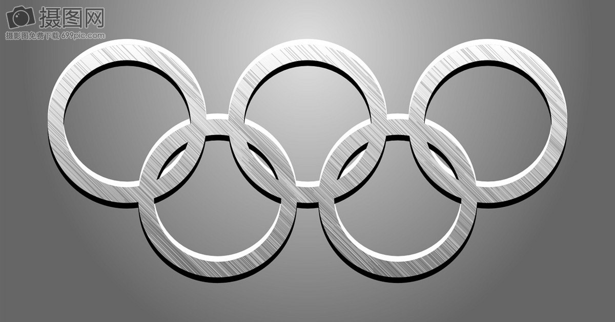 Five Ring Symbols Of The Olympic Games Graphics Imagepicture Free