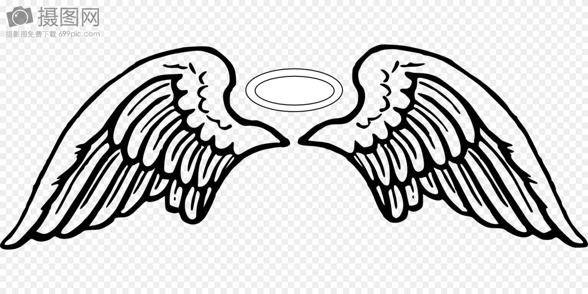 angel wings template images graphic elements pictures
