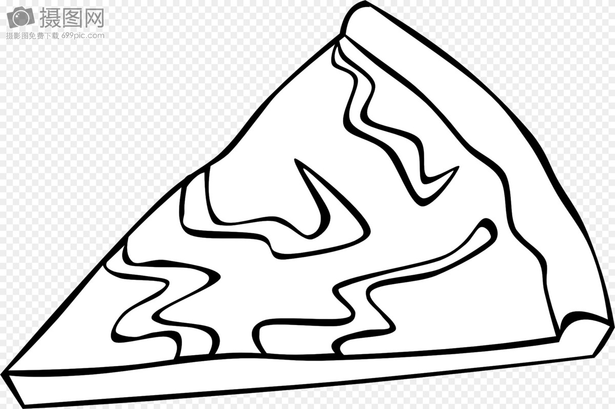 a slice of pizza template image picture free download