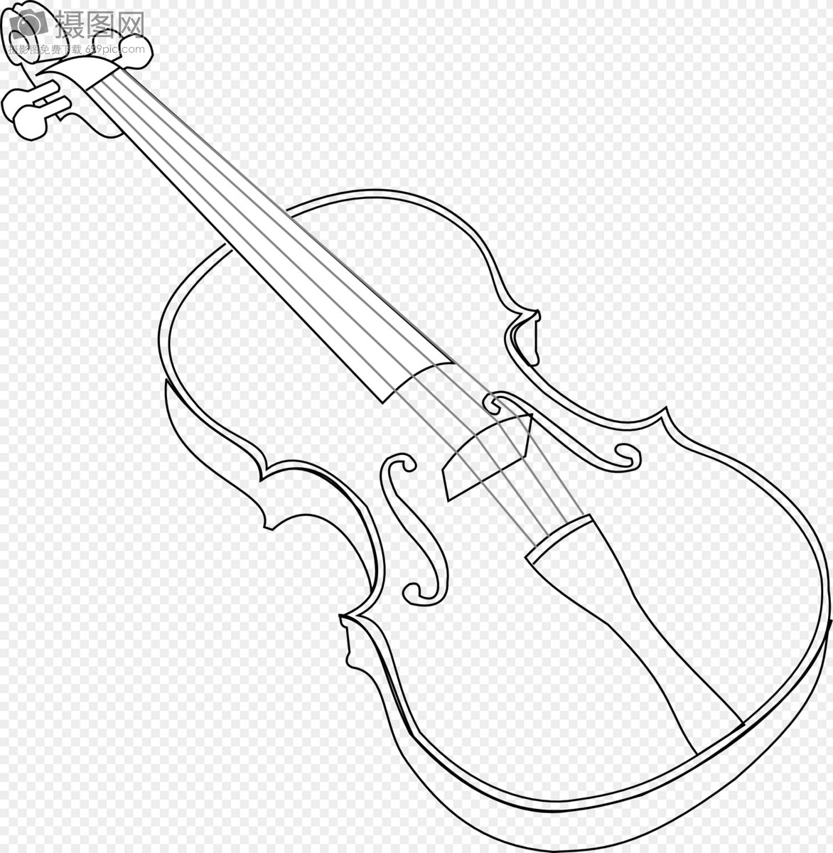 violin template images graphic elements pictures id400017096 lovepik