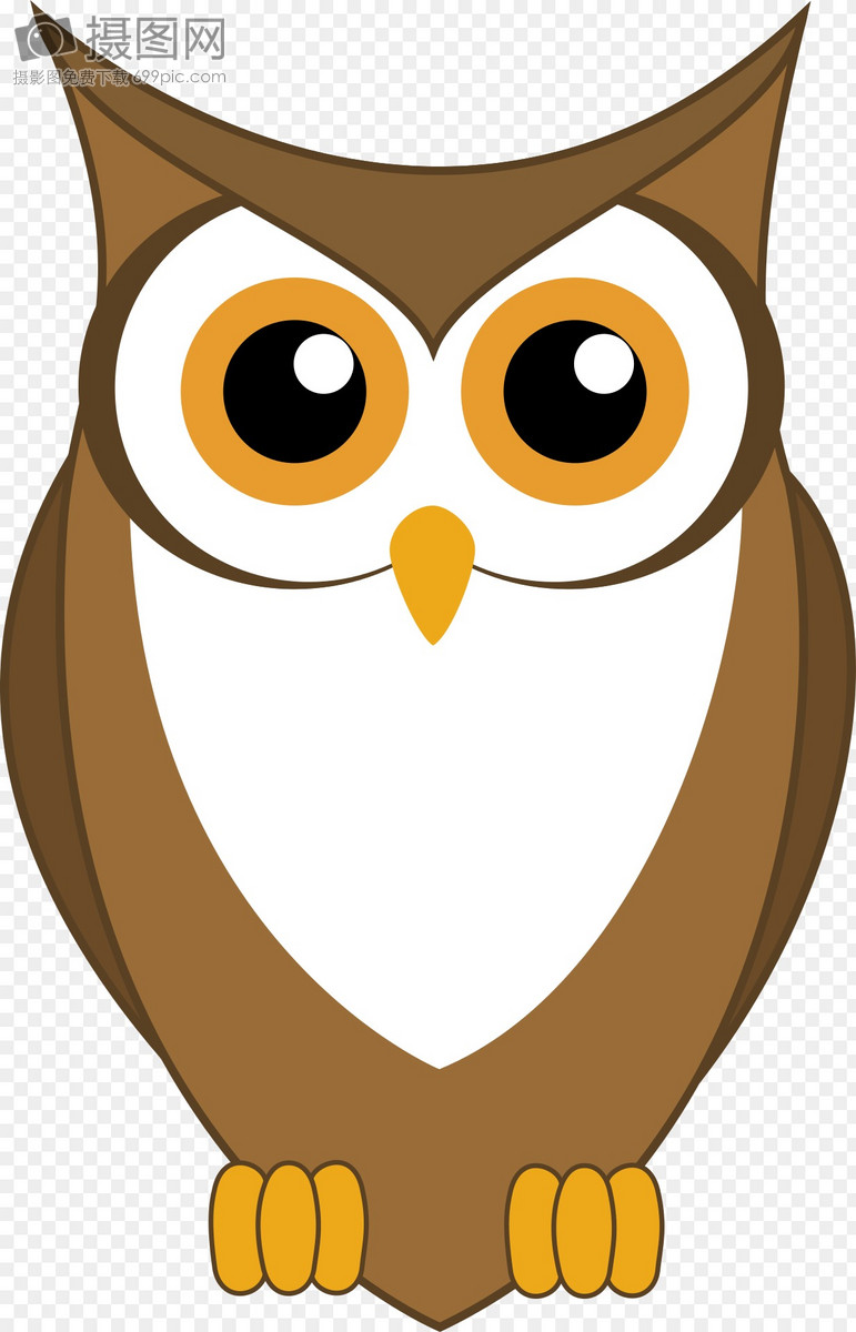 Corak Kartun Burung Hantu Gambar Unduh Gratisimej 400018740format