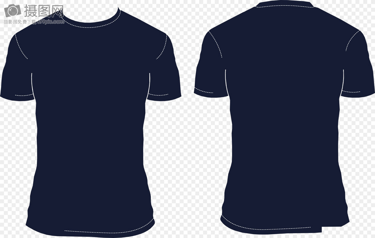 Blue T Shirt Template Graphics Imagepicture Free Download