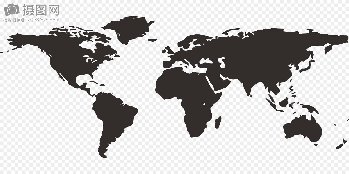 black and white world map graphics image picture free download