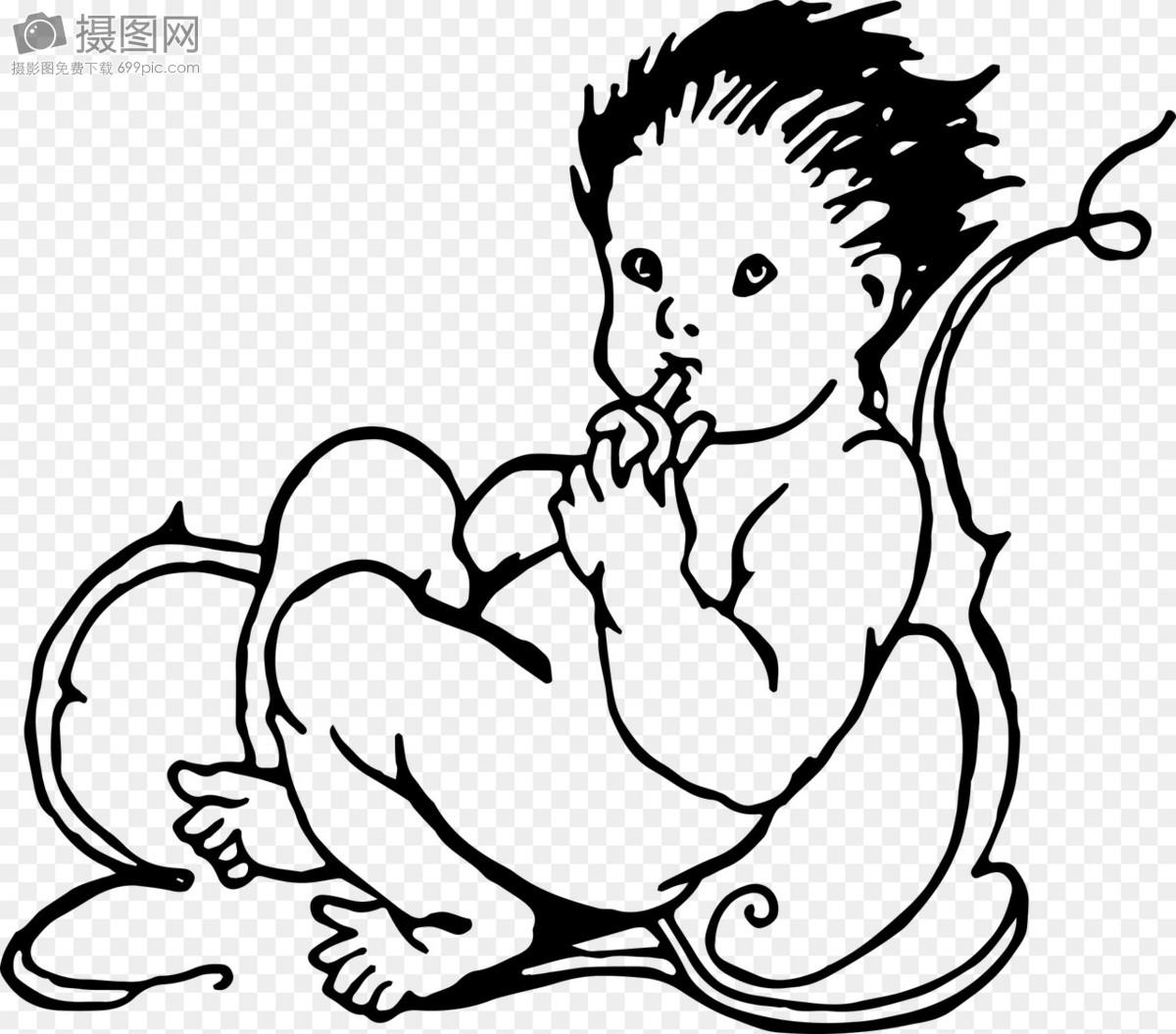 Buat Sketsa Bayi Gambar Unduh Gratis Foto 400050072format Gambar
