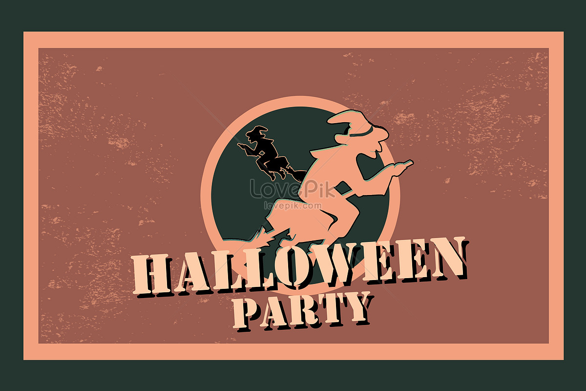 Halloween Invitation Creative Image Picture Free Download