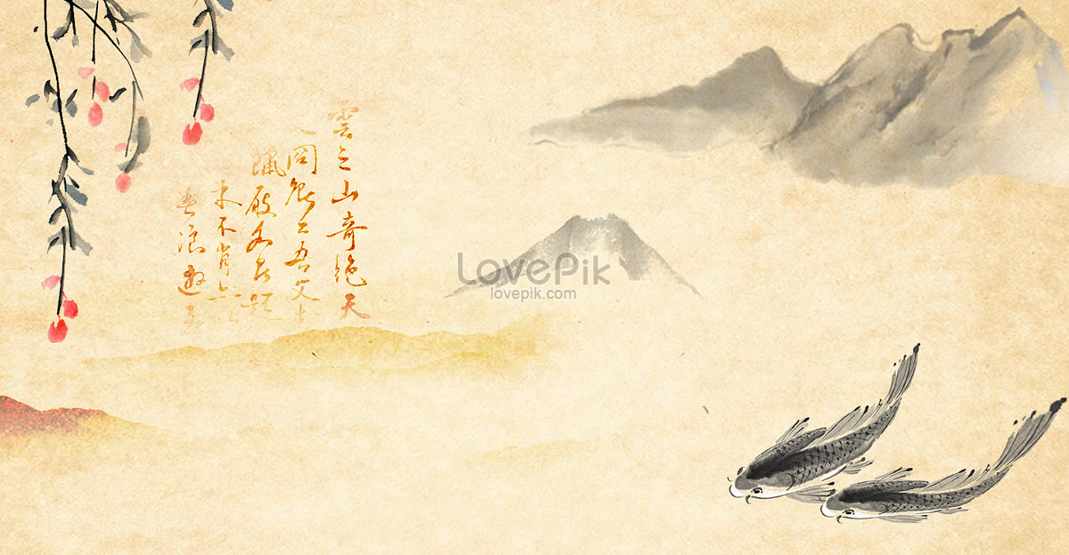 The Background Of Chinese Wind To Ancient Chinese Wind Backgrounds
