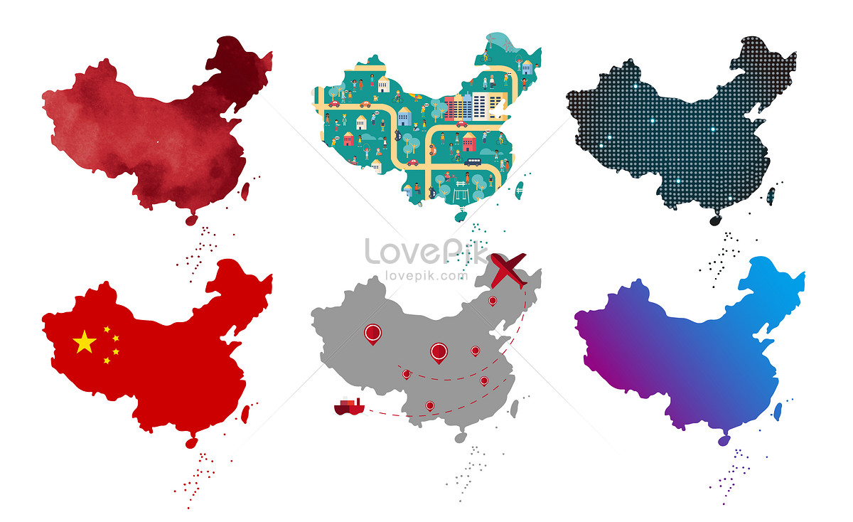 Map Vector Material In China Illustration Image Picture Free