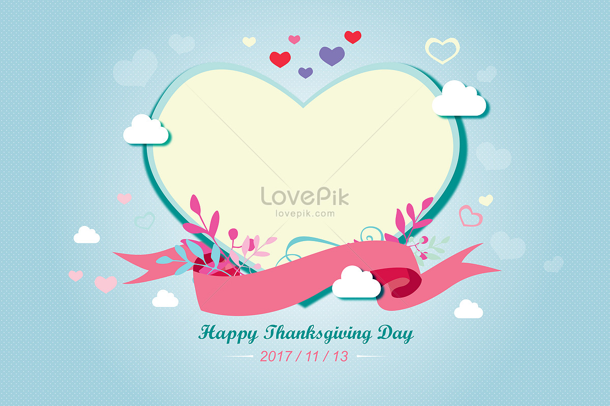 Thanksgiving Greeting Card Creative Imagepicture Free Download