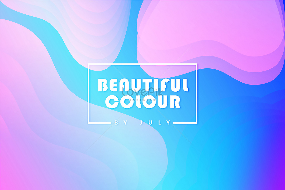 The gradient color background of the flow backgrounds image_picture ...
