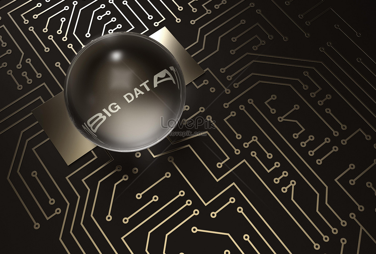 Large Data Circuit Board Background Backgrounds Image Picture Free