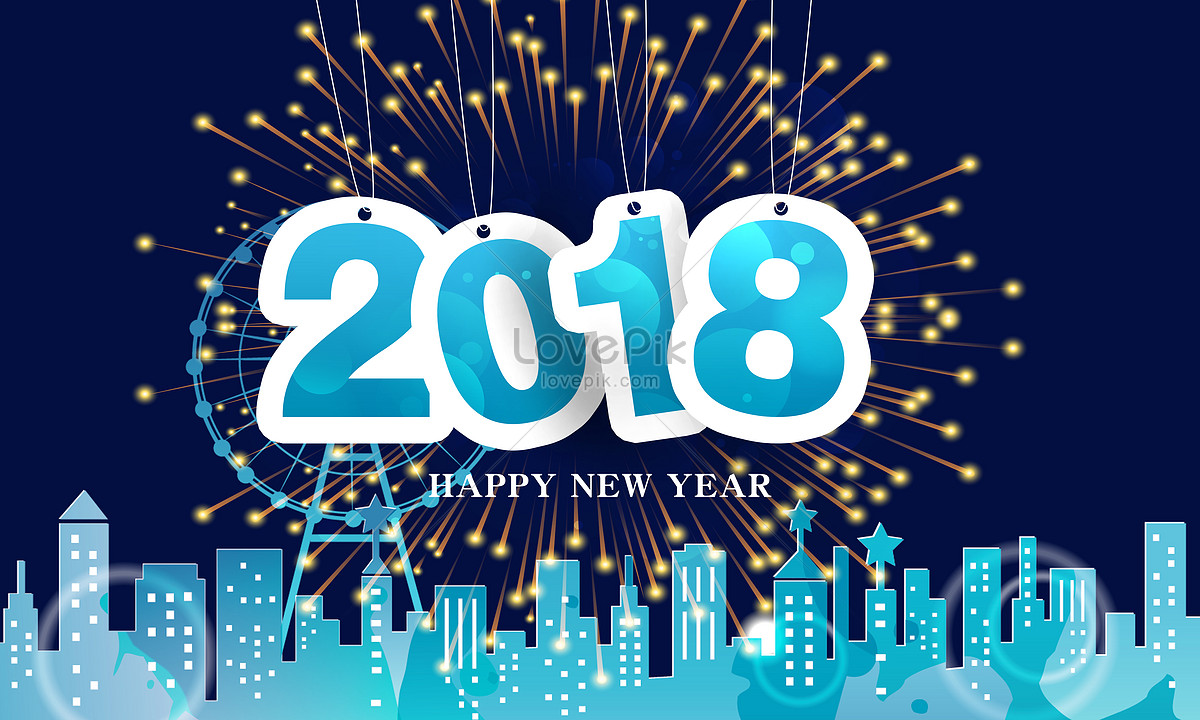 2018 Happy New Year Photo Image Picture Free Download